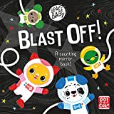 Space Baby. Blast Off!: A counting touch-and-feel mirror board book!