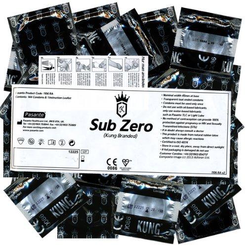 Kung «Tight» (Sub Zero) 144 sehr enge Kondome (45mm!)