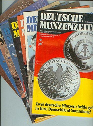 9 Hefte / Deutsche Münzenzeitung, Heft 159, 160, 162, 163, 164, 165, 166, 167, 168 [15. Jahrgang]
