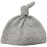【未熟児】【低出生体重児】【早産児】【NICU】用 ベビー服:ノット帽子 グレー