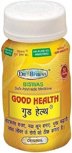 Dr Biswas Safe Ayurvedic Good Health Capsules 50