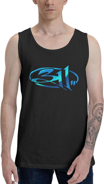 311 Band Tank Top Men Summer Sleeveless Tops Unique Vest