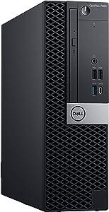 Dell Optiplex 7060 Small Form Desktop, Hexa Core i7 8700 3.2Ghz, 32GB DDR4, 512GB NVMe SSD, USB Type-C, DVD-RW, Windows 10 Pro (Renewed)