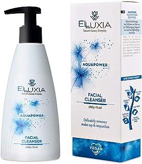 ELLUXIA, detergente viso naturale | vegan, cruelty-free | detergente viso naturale per le pelli sensibili | con olio d'oli...