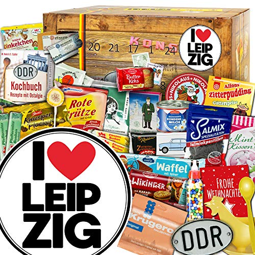 I love Leipzig - Advent Kalender DDR - Ostbox