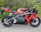 Ventas calientes, carenado completo rojo 06 07 CBR 1000 RR para CBR1000RR 2006-2007 carenado + parabrisas (moldeo por inyección)