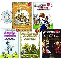 Becker's School Supplies I Can Read Book & CD Set (Set of 5 Books & CDs) [並行輸入品]