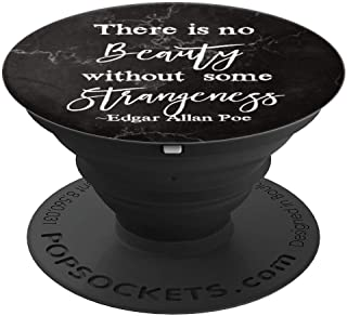 Literary Gifts, Edgar Allan Poe Bookworm Writer Gift Marble - PopSockets Grip and Stand for Phones and Tablets