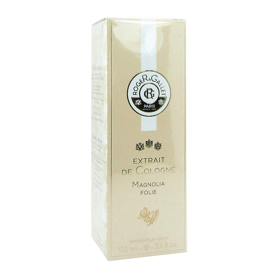 ジャムお気に入りメトロポリタンロジェガレ Extrait De Cologne Magnolia Folie Spray 100ml/3.3oz並行輸入品