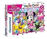 Clementoni- Puzzle 104 Piezas Glitter Minnie Happy Heper, Multicolor, única (20146.4)