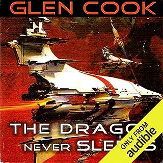 The Dragon Never Sleeps audiobook cover art