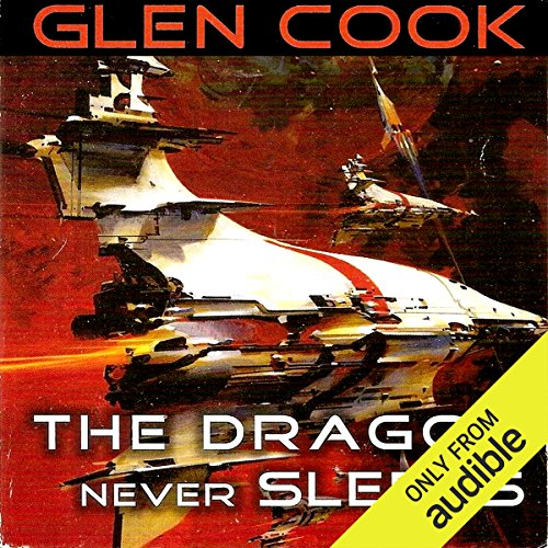 The Dragon Never Sleeps audiobook cover art