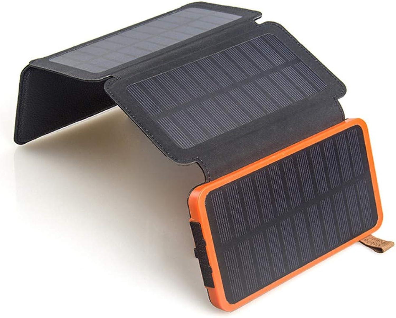 LTKKK Solar-Ladegert, 155  164  15 mm Solar-Mobilnetzteil, einkristalliner 4-W-Klapp-Solarladeschatz für den Auenbereich, für Smartphones, Tablets und mehr