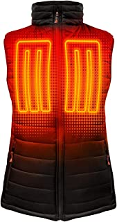 ActionHeat 5V Battery Heated Insulated Puffer Vest – Heated Clothing for Women with Tri-Zone Heating System,  Heat-Trapping Insulated Layer