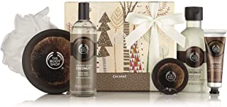 The Body Shop Coconut Essential Collections Bath & Body Gift Set, 5 piece