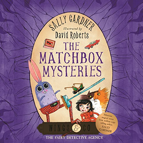 The Matchbox Mysteries audiobook cover art