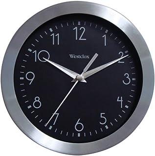 Westclox 36001A Wall Clock, 1, Stanless Black