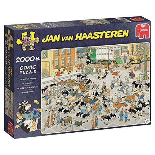 Jan van Haasteren Veemarkt puzzel – 2000 stukjes