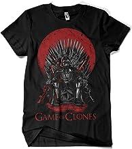Camisetas La Colmena, 035-Star Wars - Game of Thrones - Game of Clones