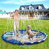 Fuloon 68' Sprinkle Pad & Splash Spielen Matte, Verdickung PVC aufblasbare Wasser Spray Pad Outdoor...