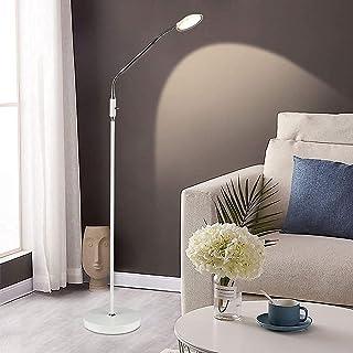 Depuley Lampadaire salon et Bureau, Lampadaire sur pied flexible minimaliste moderne,Lampe E27,3000k lumière chaud, Métal ...
