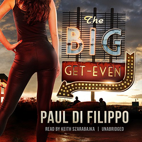 The Big Get-Even audiobook cover art
