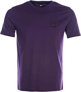 BOSS Tales T Shirt in Purple