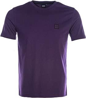 BOSS Tales T Shirt in Purple