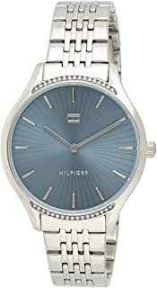 TOMMY HILFIGER WOMEN'S GIFT SET, STAINLESS STEEL BLUE DIAL WATCH & STAINLESS STEEL BRACELET - 2770081