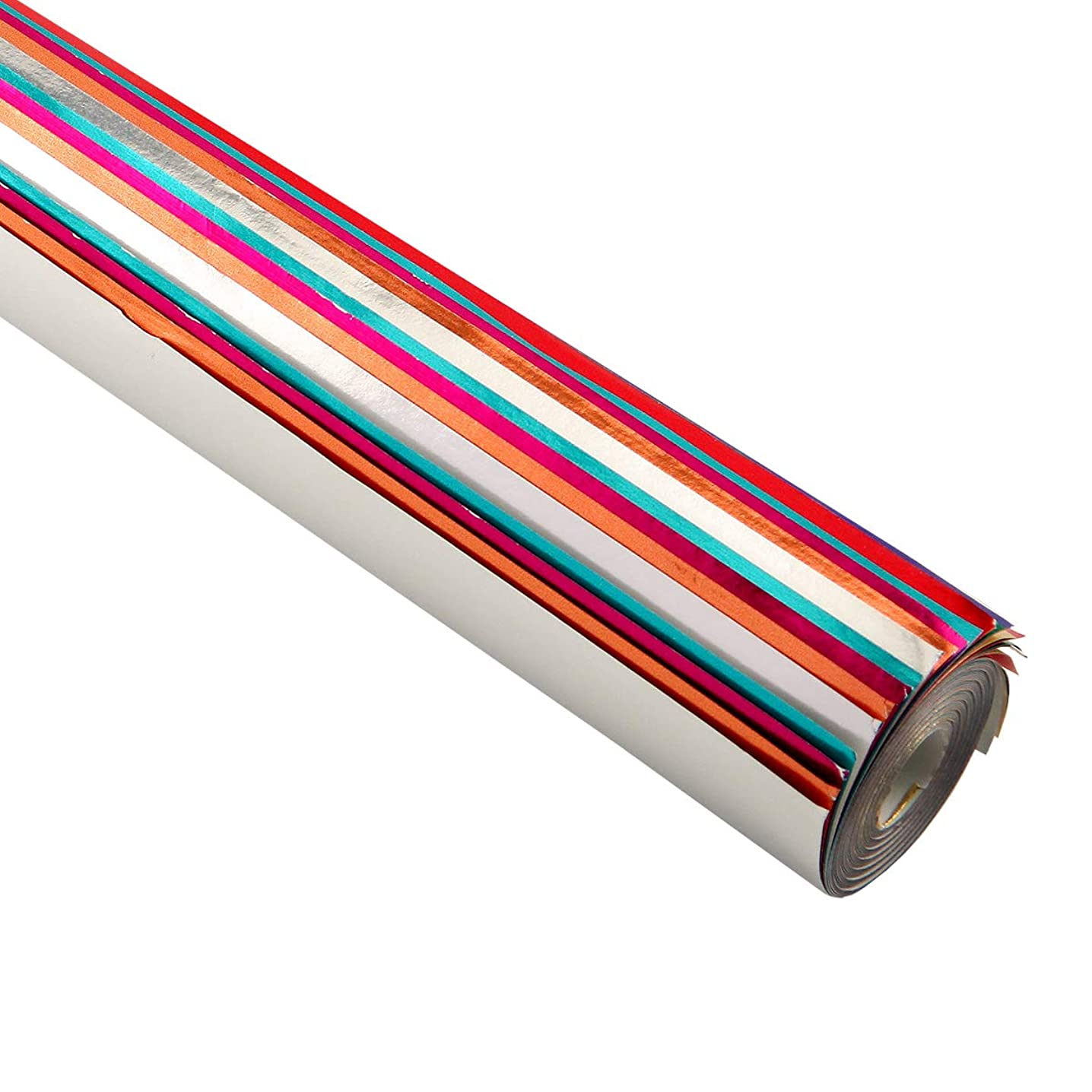 Hygloss Products 26120 Metallic Paper-20 x26, Sheets 20 Assorted Colors Rolled,