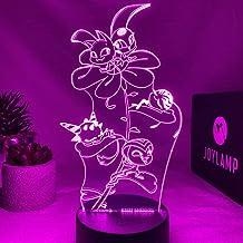 JoyLamp Miraculous Kwamis JoyLamp x Miraculous, officiële collectie, 16 kleuren + afstandsbediening, 3D-lampen Miraculous
