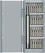 Precision Screwdriver Set,TECKMAN 25in1 Small Screwdriver Set with T2 T3 T4 T5 T6 T8 T10 T15 Torx,P2 P5 Pentalobe and Phillips,Slotted Bit Set for iPhone,Macbook,Xbox,PS4,Garmin,Eyeglass,Ring Doorbell