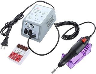 電気ネイルドリルファイルマシンマニキュアペディキュアキット、20000ターンジェルネイルキュア