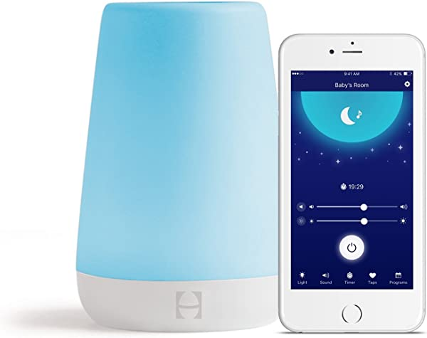 Hatch Baby Rest Sound Machine Night Light And Time To Rise