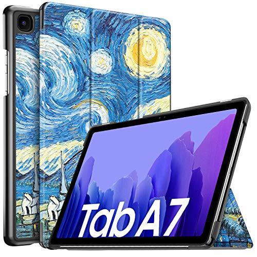 IVSO Hulle Kompatibel mit Samsung Galaxy Tab A7 104 2020 Schlank Slim Hulle Schutzhulle Hochwertiges PU mit Standfunktion Samsung Galaxy Tab A7 T505T500T507 104 Zoll 2020 CH 17