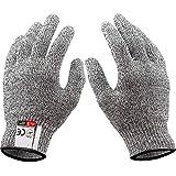 1 Paar schnittfeste Handschuhe, Sicherheits-Arbeitshandschuhe, gute Leistung, Level 5,...