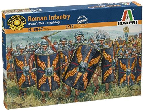 Italeri 510006047 - 1:72 Römische Infanterie 1 Jahrhundert