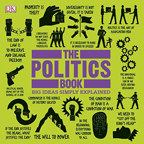 The Politics Book audiobook cover art