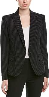 Women's One-Button Peak Lapel Jacket