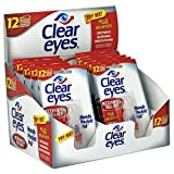 Clear Eyes Eye Drops, Redness Relief, Handy Pocket Pal 0.2 oz, Pack of