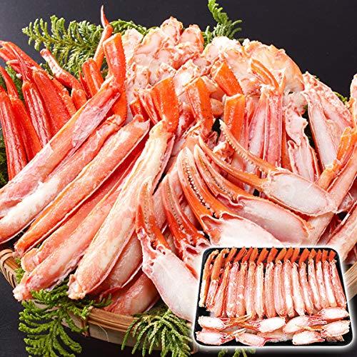 かに 蟹 カニ ボイル紅ずわいがに カットミックス 2kg ベニズワイガニ 紅ずわいがに ボイル済み 冷凍 国華園