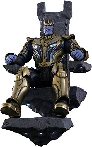 Hot Toys - Figur Thanos aus Marvels Guardians of The Galaxy, blau Gold, 1 6-Grünverh nis, 38 cm