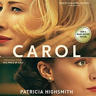 Carol - The Price of Salt audiobook cover art