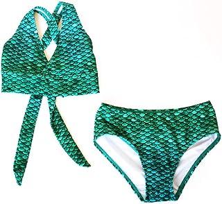 a6c2d1d423198 Sun Tails Mermaid Swimsuit - Girls Bikini Set - Matching Scale Colors