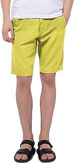 Pau1Hami1ton Pantaloncini Uomo Bermuda Chino Shorts Pantaloni Corti in Cotone PH-01