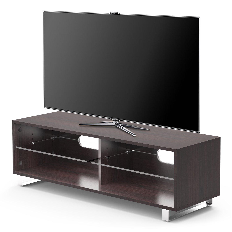 1home Soporte de TV Soporte de cristal de estante hasta 55
