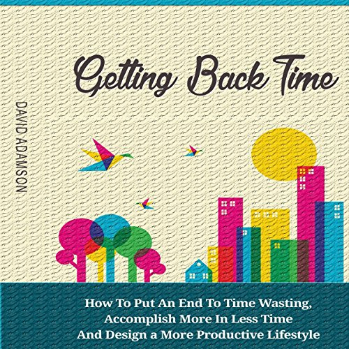 Getting Back Time audiobook cover art