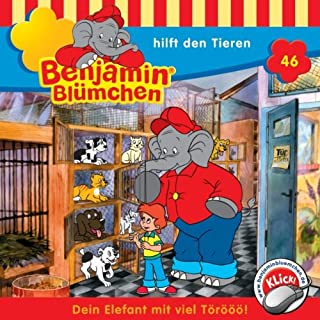 Benjamin hilft den Tieren audiobook cover art
