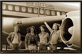 Led Zeppelin - Airplane 24x36 Standard Wall Art Poster