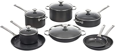 Le Creuset Toughened Nonstick PRO Cookware Set, 13pc
